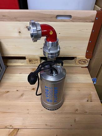 Mobiler Hochwasserschutz I vogt tools I Flutset HQ S 22.5 Pro Tauchpumpen
