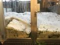 Starkregen mit Hagel - Hochwasser