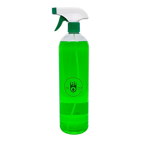 1 Liter Handdesinfektionsmittel mit Trigger Spray in PET-Flasche