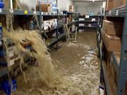 Wassereintritt in Lagerraum durch Starkregen
