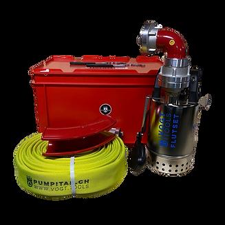 Mobiler Hochwasserschutz I vogt tools I Flutset HQ S 9.5 Pro Tauchpumpe