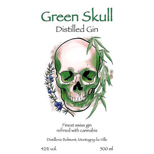 Gin - Green Skull