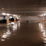 Tiefagarage überflutet nach Starkregen