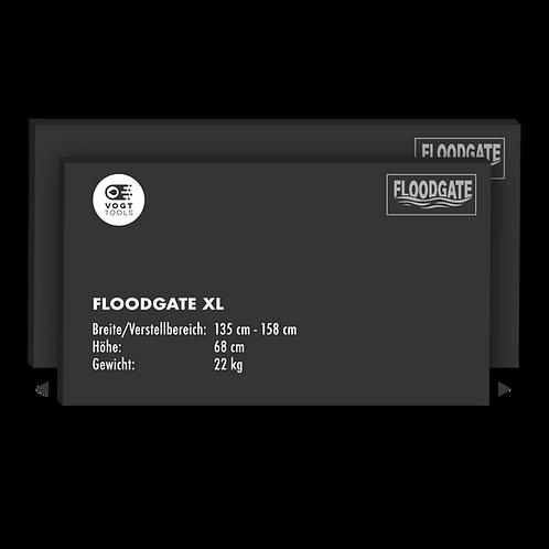 FLOODGATE-Wassersperre XL I 135 - 158 cm