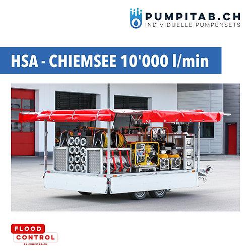 Hochwasserschutzanhänger CHIEMSEE HSA - 120'000 l/h