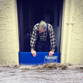 👉🏼 Wer möchte noch sein Haus vor Starkregen schützen?