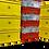 Thumbnail: PANDEMIEBOX 20 Liter gelb zum Befüllen I Ohne Inhalt mit Beschriftung