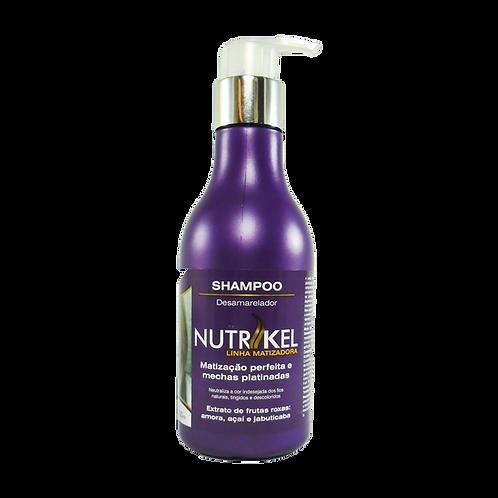 Shampoo Nutrikel Matizadora Desamarelador 300ml