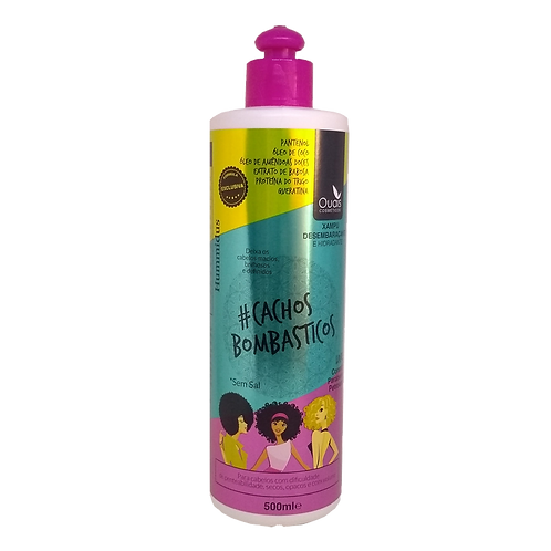 Shampoo Desembaraçante e Hidratante Bombásticos Hummidus