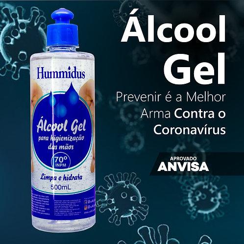 Alcool Gel Hummidus 70% 500mL