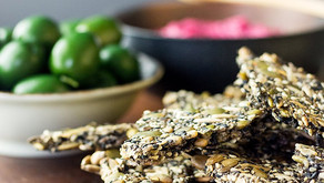 Middle Eastern Seed Biscuits