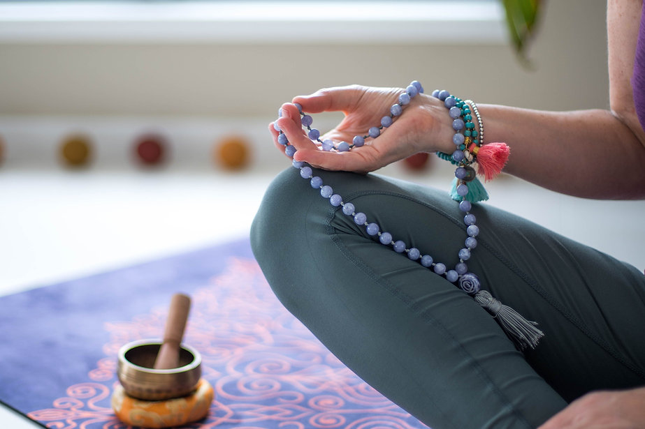 Zenergy 4 Life veronica holding mandala beads