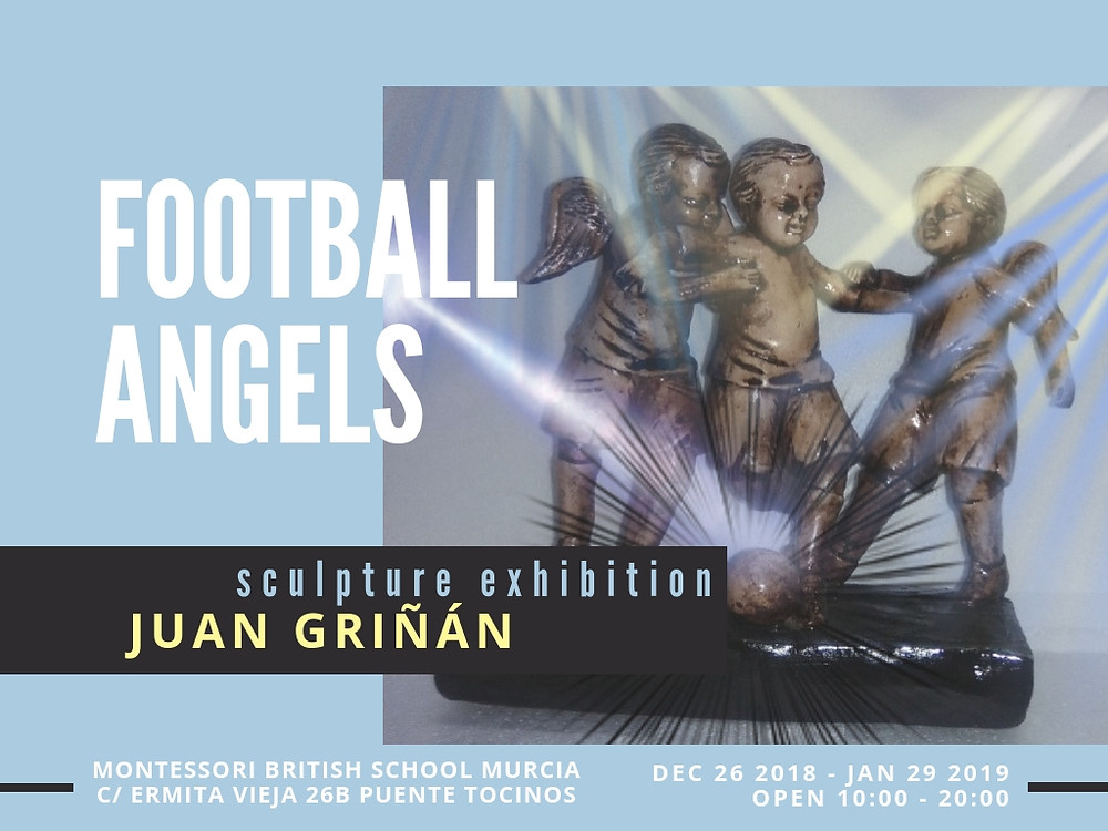 Football Angels Exhibition