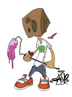 """""""Paper Bag Head"""" 2015"""