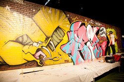 Live Graffiti Painting Austin TX