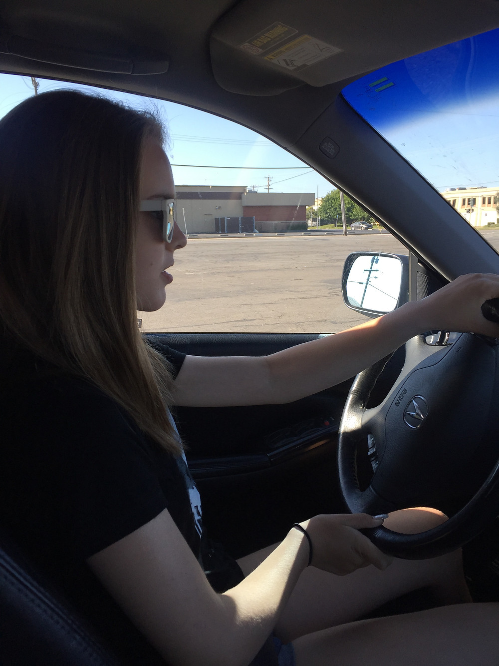 First time behind the wheel