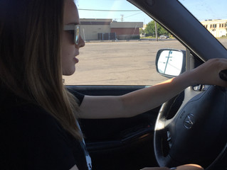 Watching Her Drive Away