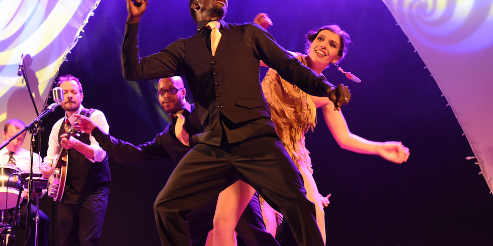 The Oyster Brothers & Funky Swing Dancers