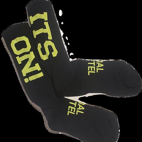 'ITS ON!' Sock