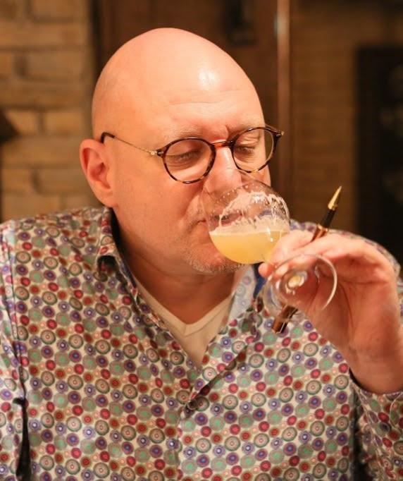 Biersommelier en auteur Frits Dunnink