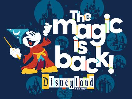 Disneyland is back!
