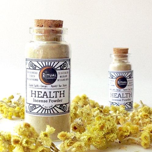 HEALTH Loose Incense