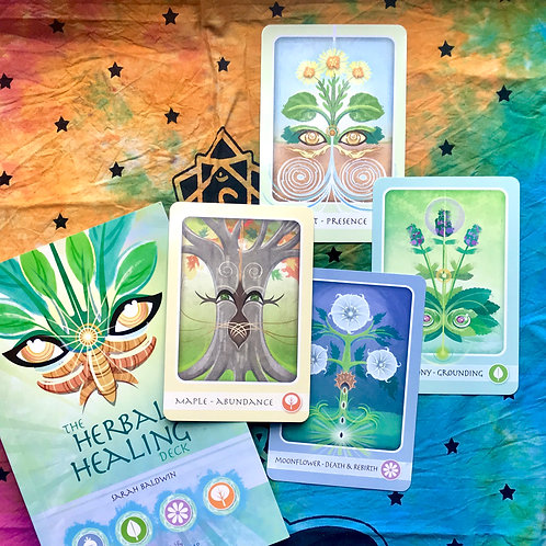 Herbal Healing Deck Oracle Reading