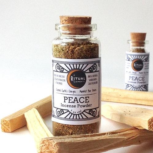 PEACE Loose Incense