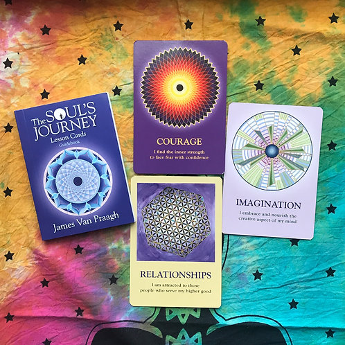 The Soul's Journey Lesson Cards Oracle Reading