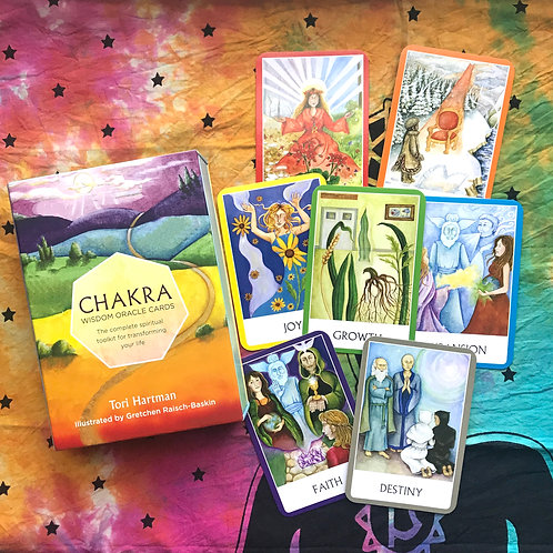 Chakra Wisdom Oracle Reading