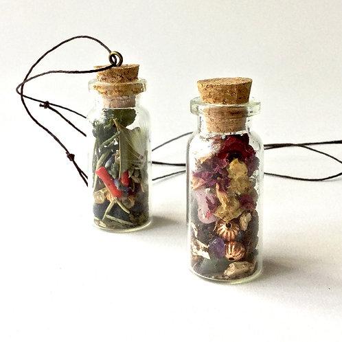 Charm Bottle Pendant- Custom Spell