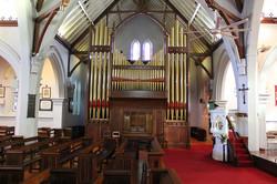 St Paul's Church organ