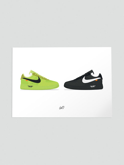 AIR FORCE 1 OFF--WHITE