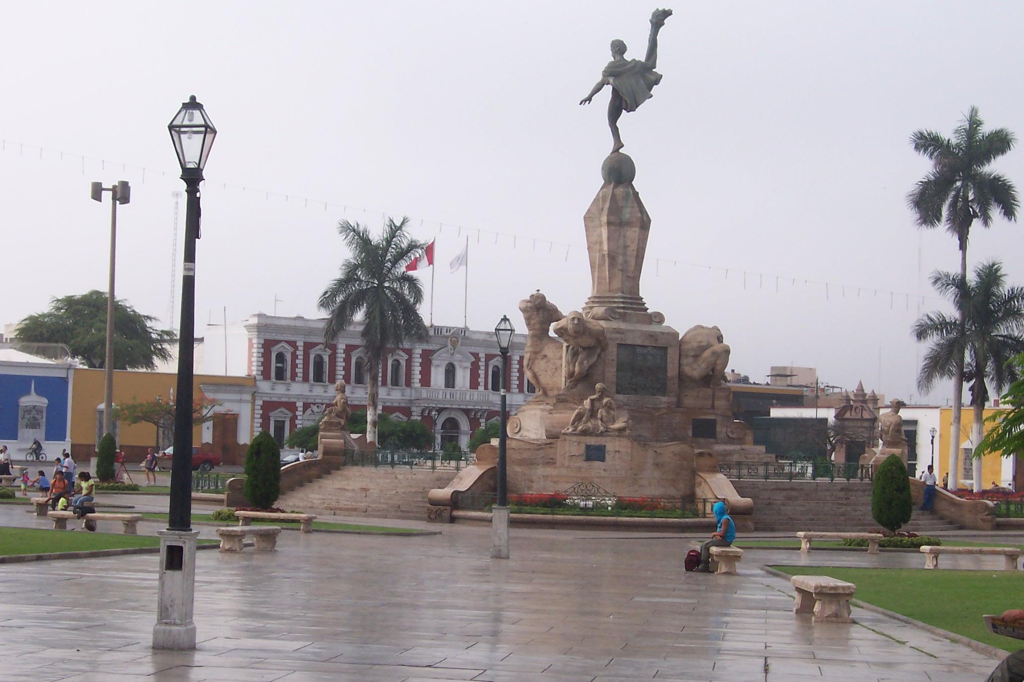 Trujillo_Perú_Plaza_de_Armas