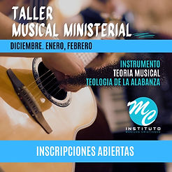 TALLER MUSICAL MINISTERIAL