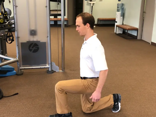 Hip Strength & Stability Week 6 - The Split Squat