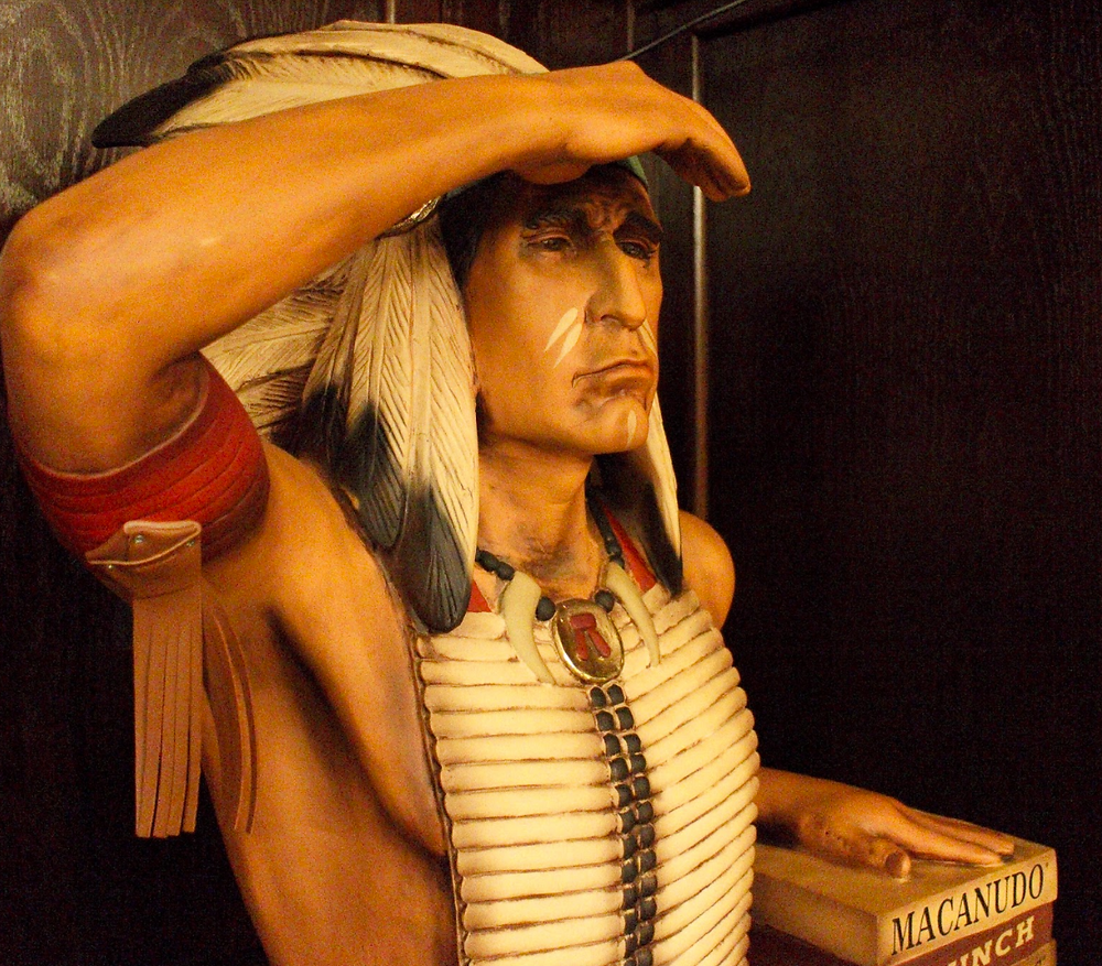 Why Do Cigar Shops Have Native American Statues?
