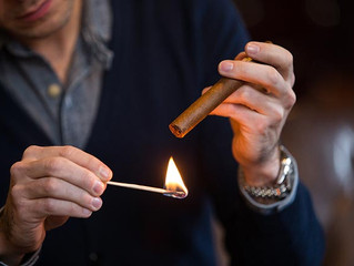 3 Steps to How to Light A Cigar