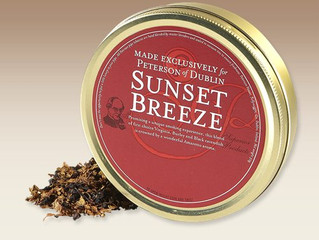 Peterson of Dublin Sunset Breeze Pipe Tobacco