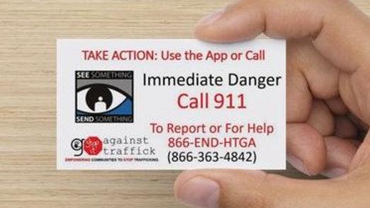 STOP IT Awareness Cards
