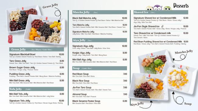 restaurant menu designer