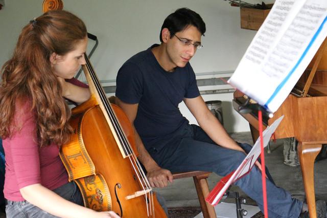 Angelika Zwerger und Mikayel Balyan