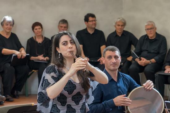Tamar Eskenian und Gor Ghalmukhyan