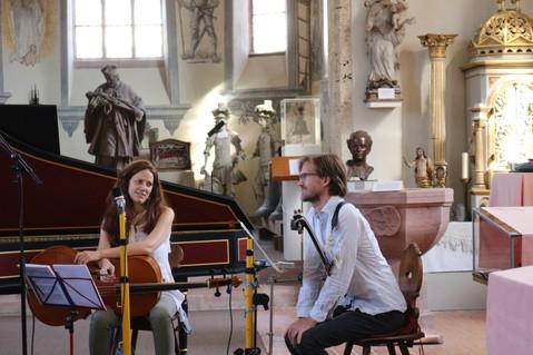 Angelika Zwerger und John Martling