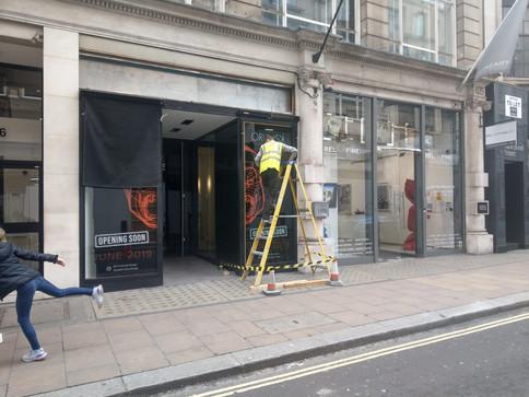 Shop exterior - ladder.jpg