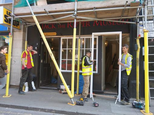 External scaffolding - Jack the Ripper.j