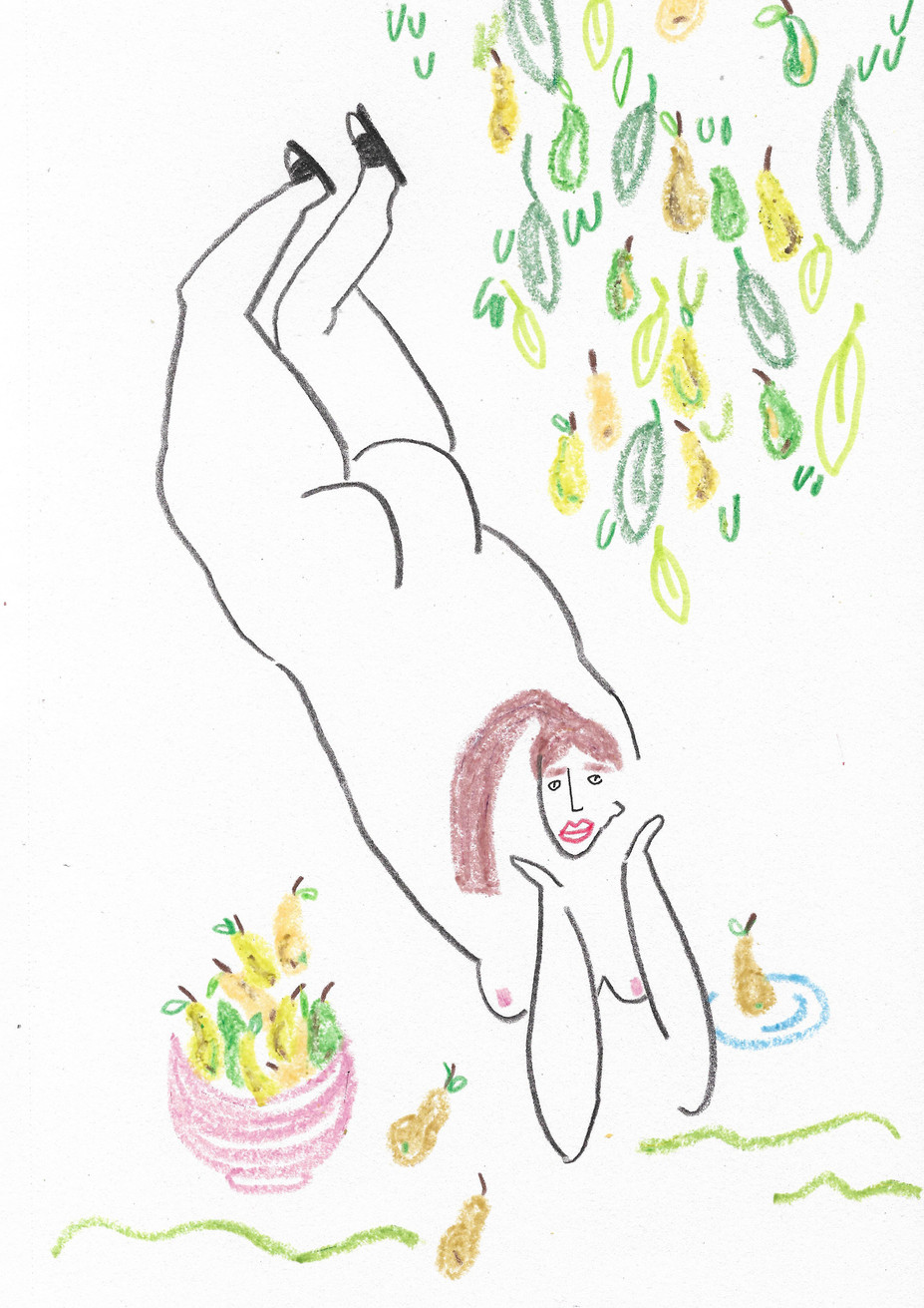 Pear Tree Lady