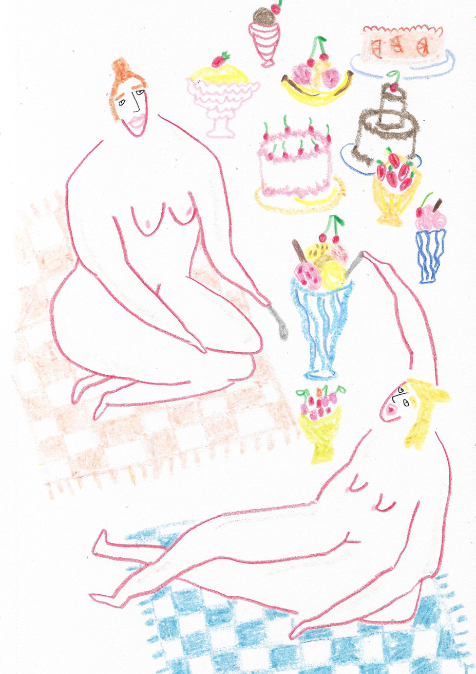 Ladies with Puddings