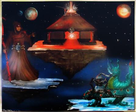 Mystic Oil Painting