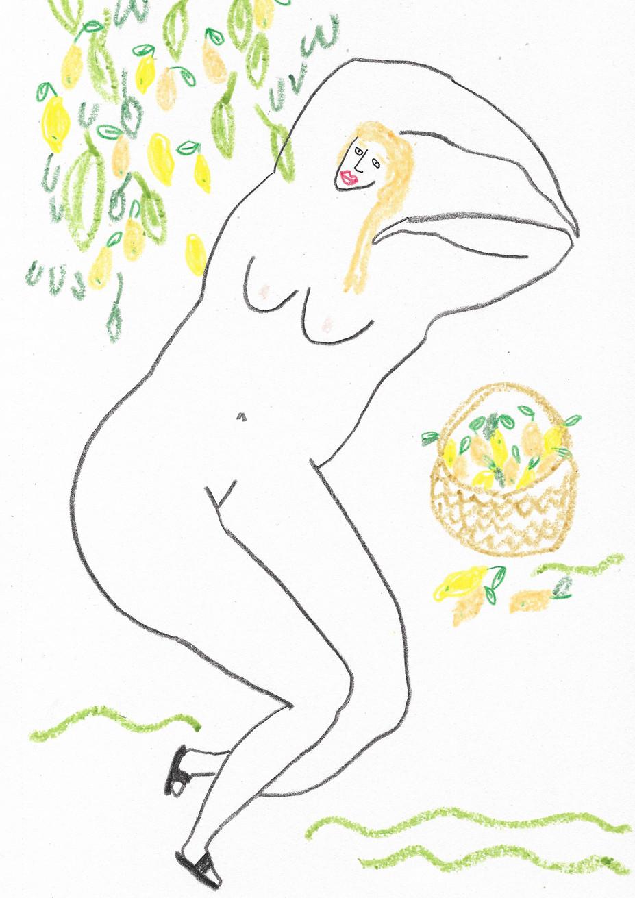 Lemon Tree Lady